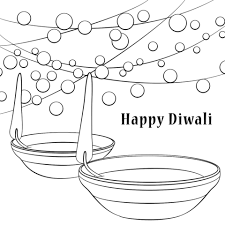 Here is a lovely diwali coloring sheets that shows a happy family performing lakshmi puja. Happy Diwali Coloring Page Free Printable Coloring Pages Happy Diwali Diwali Colours Free Printable Coloring Pages
