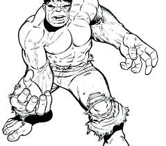 hulk coloring pages red page incredible free printable hulkbuster to print