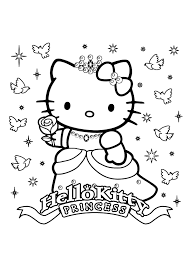 Small Picture Hello Kitty happy birthday Coloring Pages Archives gobel