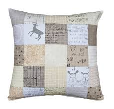 135 best A quilted cushion images on Pinterest | Ideas, Appliques ... & Low Volume quilted cushion - Needles and Lemons Adamdwight.com