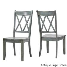 grey wood dining chairs. Eleanor Double X Back Wood Dining Chair (Set Of 2) By INSPIRE Q Classic - Free Shipping Today Overstock 20156551 Grey Chairs C
