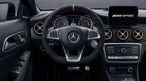 Discover the interior of the new glc suv: Mercedes Benz Gla Yellow Night Edition