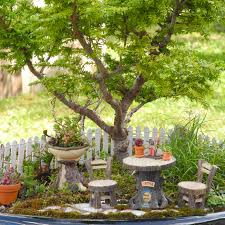Reputable Fairies Keywords Together With Tree Stump Fairy Garden Furniture  For Our Miniature Gardens Similiar Tiny