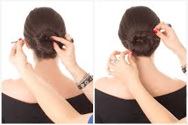 Chingon Hair Style chignon bun in 7 steps how to do a chignon hairstyle 5770 by wearticles.com