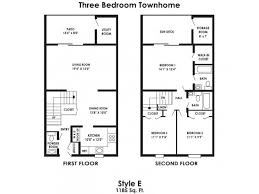 3 Bed  25 Bath Apartment In Clayton NJ  Rustic Village Townhomes Floor Plans