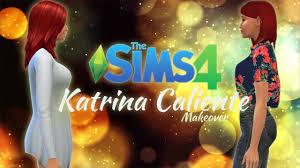 The Sims 4 Makeover CAS - ☼Rodzina Kaliente☼ : Katrina - YouTube