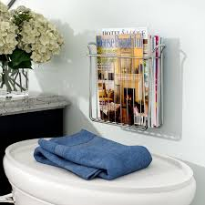 Living Room Magazine Holder Cool Rebrilliant Espana Wallmount Newspaper HolderMagazine Rack
