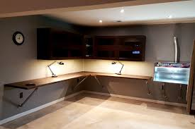 wall mounted corner workbench