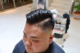 スキンフェード ショートカットとくせ毛が得意なくせもの美容師の