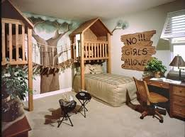 Jungle themed furniture Childs Room 20 Jungle Themed Bedroom For Kids Rilane 20 Jungle Themed Bedroom For Kids Rilane