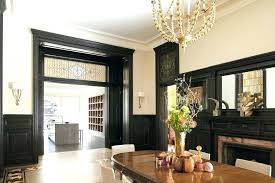 Dark Trim Light Walls Fascinating Dark Trim Light Walls Trim Light Dark Trim Light Walls Dining Room