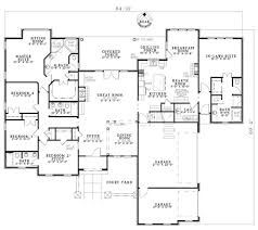 Southern House Plan 1171100 4 Bedrm 2414 Sq Ft Home View House Plans