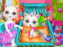 Cat Gives Birth Games 7.7.0 APK Download - Android Casual Games