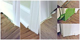 Tips For Caulking Trim Install Laminate Flooring Part 2 The Finishing Touches Eieihome
