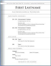 Free Downloadable Resume Templates For Word 2010 Extraordinary Download Free Resume Templates For Word 40 Letsdeliverco