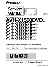 pioneer avh x1550dvd xnrd manuals pioneer avh-x4800bs wiring harness diagram at Pioneer Avh X1500dvd Wiring Diagram
