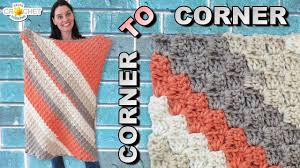 Corner To Corner Afghan Pattern Unique Design Inspiration