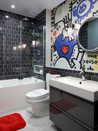Teenage Bathroom Decor White Flooring Fabulous Ideas For Boys Bathroom Boy Teenage