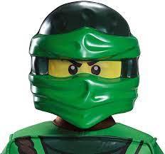 Lego - Ninjago - Maske Lloyd (grün) Kinder Einheitsgröße: Amazon.de:  Spielzeug