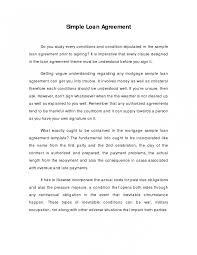 Free Loan Agreement 100 Free Loan Agreement Templates [word Pdf] Template Lab Doc Image 82