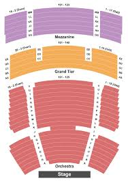 California Theatre Seating Chart San Jose