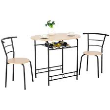 Dining Set For 2 3 Table And Chairs Home Kitchen Breakfast Bistro