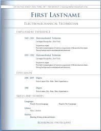 Resume Format Word Pelosleclaire Com