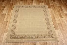 greek anti slip flatweave beige rugs
