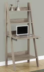 ladder desk with storage stanton style writing shelves hokku designs and ladder desk with shelves ladder