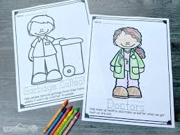 Secondly, coloring for kids it is not only filling with colors finished. Free Community Helpers Coloring Pages