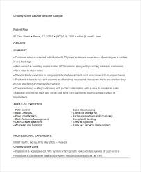 Gallery Of Grocery Store Clerk Resume Related Head Cashier Resume