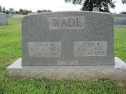 Emma Jane Wade (1874-1951) - Find A Grave Memorial