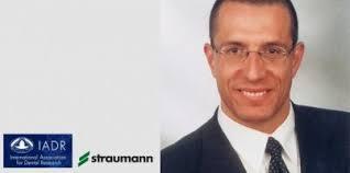 <b>Anton Sculean</b> mit IADR/Straumann Award ausgezeichnet. E-MailDrucken - iadr
