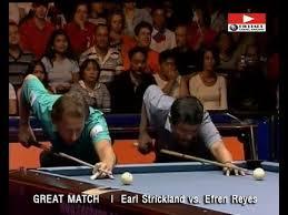 Efren Reyes vs. Earl Strickland | GREAT BILLIARD MATCH - YouTube