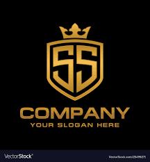 Ss Design Letter Ss Initial Logo Luxury Logo Design