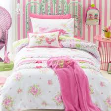 shabby chic kids bedding set cartoon single bed duvet quilt cover pillow case cover for children room bedclothes single bed room furniture design cover bed