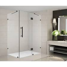 frameless shower enclosures. Delighful Shower Completely Frameless Shower On Enclosures The Home Depot