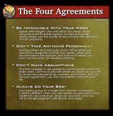 The Four Agreements Quotes Custom Moonflower Herbals Blog