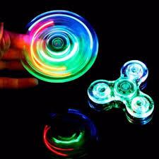 Fidget Spinner Light Blue Led Us 1 94 35 Off Luminous Led Light Fidget Spinner Hand Top Spinners Glow In Dark Light Edc Figet Spiner Batman Finger Stress Relief Toys In Fidget