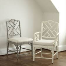 our dayna side chair captures the sophisticated soul of chinese chippendale styling solid beech wood frame is artisan crafted with clic fretwork