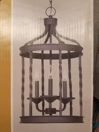 pendant lighting rustic. Hampton Bay Pendant Lights Barcelona Collection 3Light Rustic Iron Lighting I
