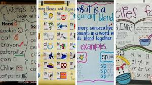 Anchor Charts Simple 44 Perfect Anchor Charts For Teaching Phonics And Blends