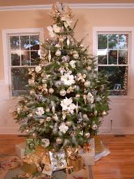 Welcome to the paged dedicated to christmas tree ideas of silver and gold  themes. themes