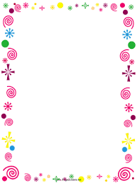 Paper Borders Templates Printable Page Borders