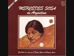 'the black one'), was an argentine singer who was popular throughout latin america and many countries outside the region. Mercedes Sosa Mercedes Sosa En Argentina 1981 Gatefold Vinyl Discogs