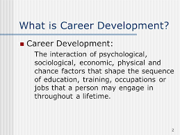 What Is Career Development Career Development Models Theory And Practice 2 What Is