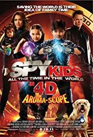 spy kids all the time in the world in 4d poster