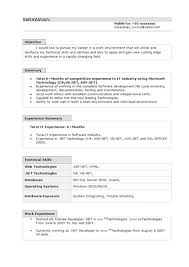 Microsoft Office Resume Templates 2007 - Monterossoestate.com