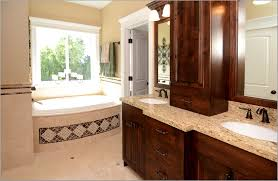 Dark Cabinet Bathroom Light Hardwood Floors With Dark Cabinets Bathroom Furniture Mocha