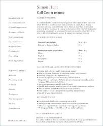 Call Center Operations Manager Resume Examples Resume Samples Call Mesmerizing Example Of A Call Center Resume